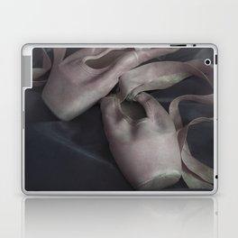 Pastel pink points ballet shoes Laptop & iPad Skin