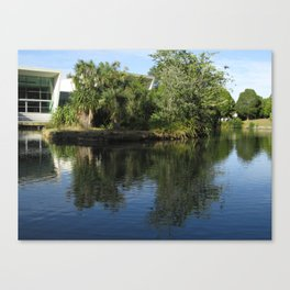 Campus Island Canvas Print