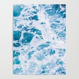 Perfect Ocean Sea Waves Poster