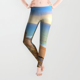 cliffs ericeira surf Leggings