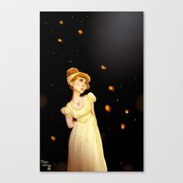 Sonya Alone Canvas Print