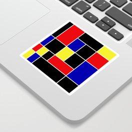 Mondrian #49 Sticker
