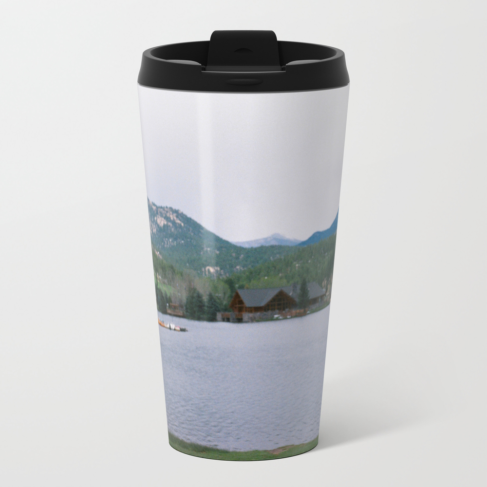 Gone Fishin' Metal Travel Mug by Avagabondsvisual MTM9035625