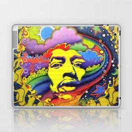 Jimi Hendrix Laptop & iPad Skin