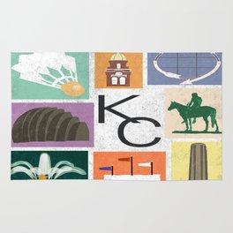 Kansas City Landmark Print Rug