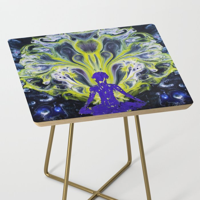 Yoga Meditation Side Table