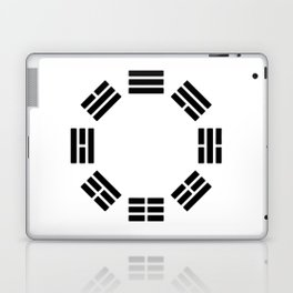 Black Hexagon I ching Feng Philosophy Laptop & iPad Skin