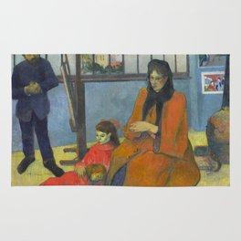 Schuffenecker Family by Paul Gauguin Rug