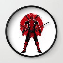 Mercenary Sun Wall Clock