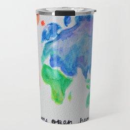 puerta project: open doors open hearts Travel Mug