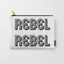 Rebel Rebel Art Print Carry-All Pouch