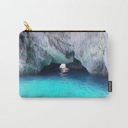 Capri Blue Grotto Carry-All Pouch
