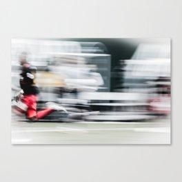 Speed Kills  Canvas Print