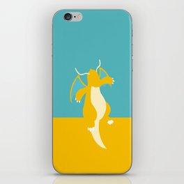 Dragonite iPhone Skin