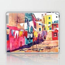 Laundry in Venice Laptop & iPad Skin