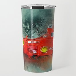 F1 Sports Car Travel Mug
