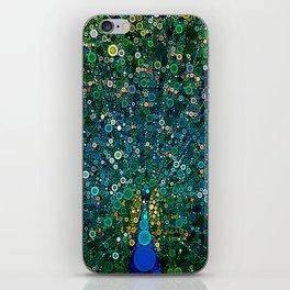 :: Peacock Caper :: iPhone Skin