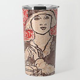 Paris Cafe Travel Mug