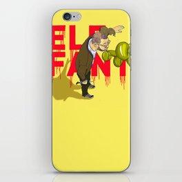 Elefant...or Elephant? iPhone Skin