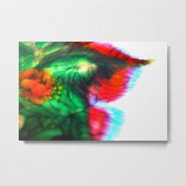 Fuzzy Flower Dreaming  Metal Print