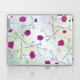 AMYKID inkline flower pattern Laptop & iPad Skin