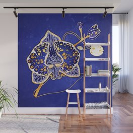 Egyptian Blue :: Orchid Wall Mural