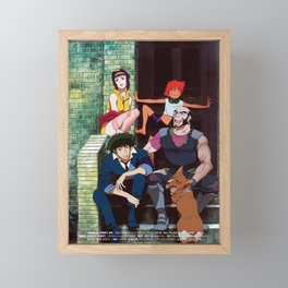 solo spike cowboy bebop main cast Framed Mini Art Print