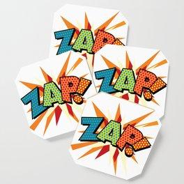 Comic Book Pop Art Sans ZAP! Coaster