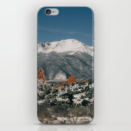 Snowy Mountain Tops iPhone Skin