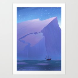 Northern Winds Art Print