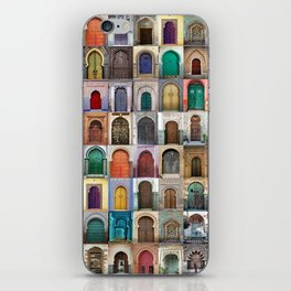 Moorish Doors Montage iPhone Skin