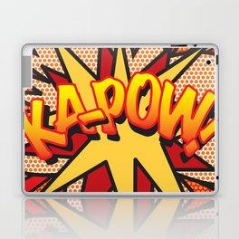 Comic Book KA-POW! Laptop & iPad Skin
