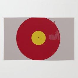 Red Vinyl Rug