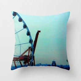 Cargosel Throw Pillow