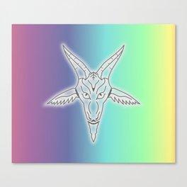 Rainbow Satan Canvas Print