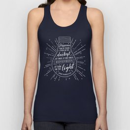 Happiness can be found Unisex Tank Top