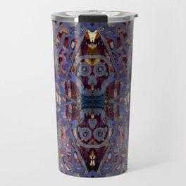 Skulls Purple Rouge Travel Mug