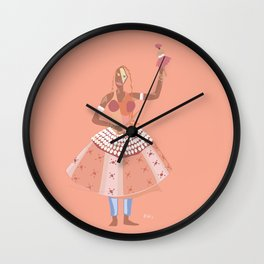 ORIXAS_ ewá Wall Clock