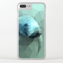 """Fragments """"Manatee"""" Clear iPhone Case"""