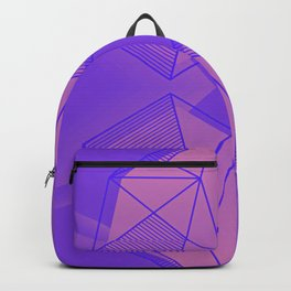 Two Hearts Beating As One - Bright Color Backpack