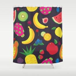I love fruits! Shower Curtain