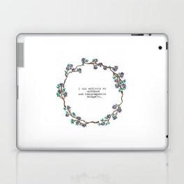 Caffeine and Inappropriate Thought Laptop & iPad Skin