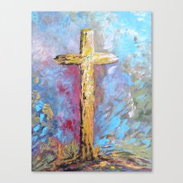 Colors of the Cross Canvas Print