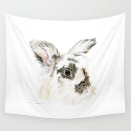 Pixie the Lionhead Rabbit by Teresa Thompson Wall Tapestry