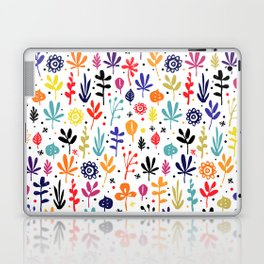 autumn multicolor leaves Laptop & iPad Skin