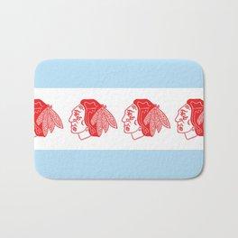 Hawks Flag Bath Mat