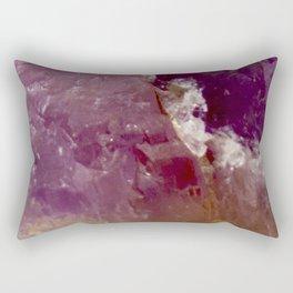 Purple Amethyst Rectangular Pillow