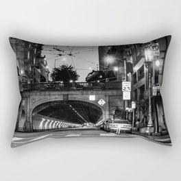 San Francisco Tunnel Rectangular Pillow