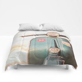 The Blue Vespa Comforters