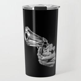 Aim and Shoot gun Travel Mug